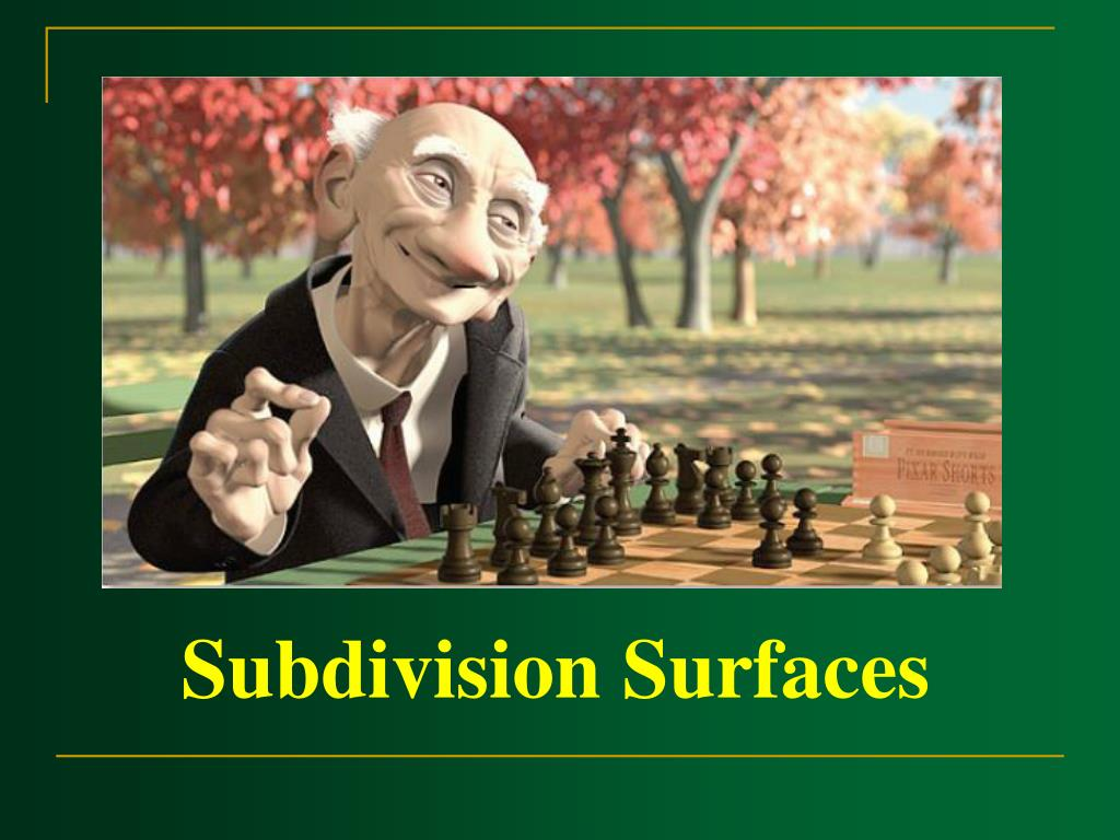 Subdivision Surfaces