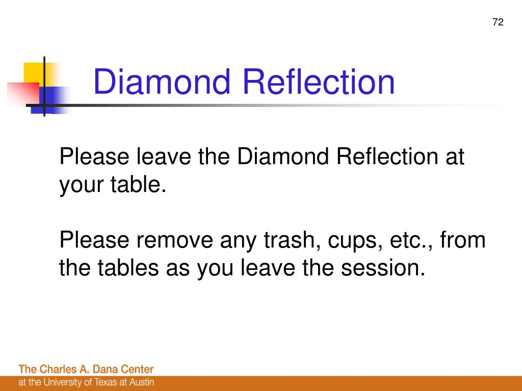 Diamond Reflection
