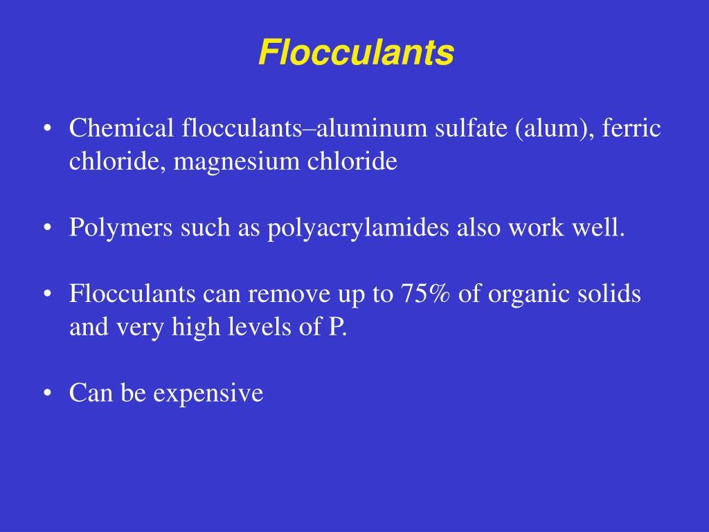 Flocculants
