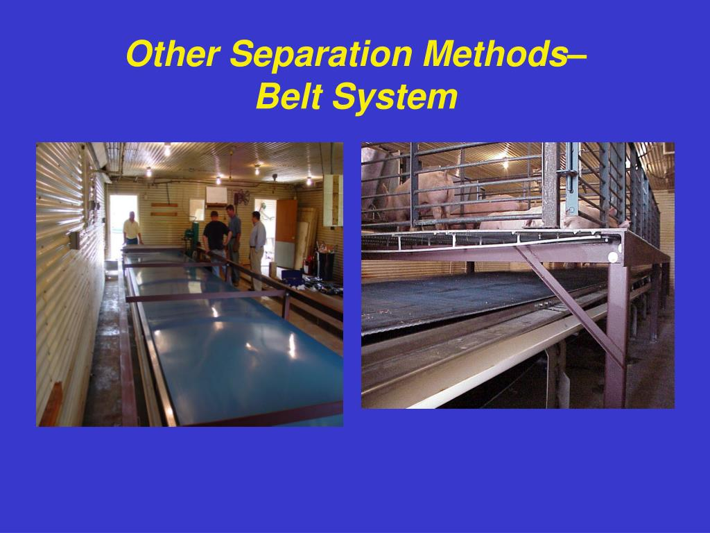 Other Separation Methods–