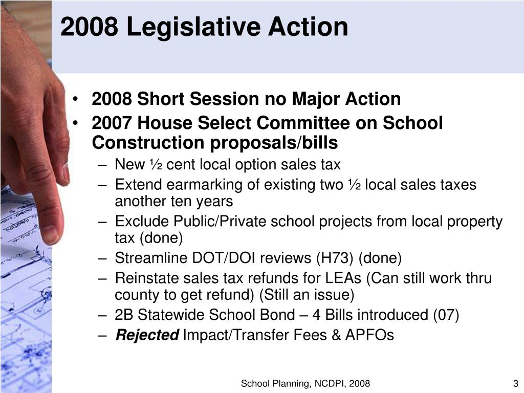 2008 Legislative Action