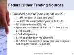 federal other funding sources