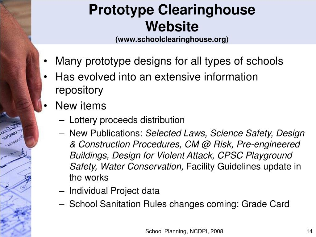 Prototype Clearinghouse