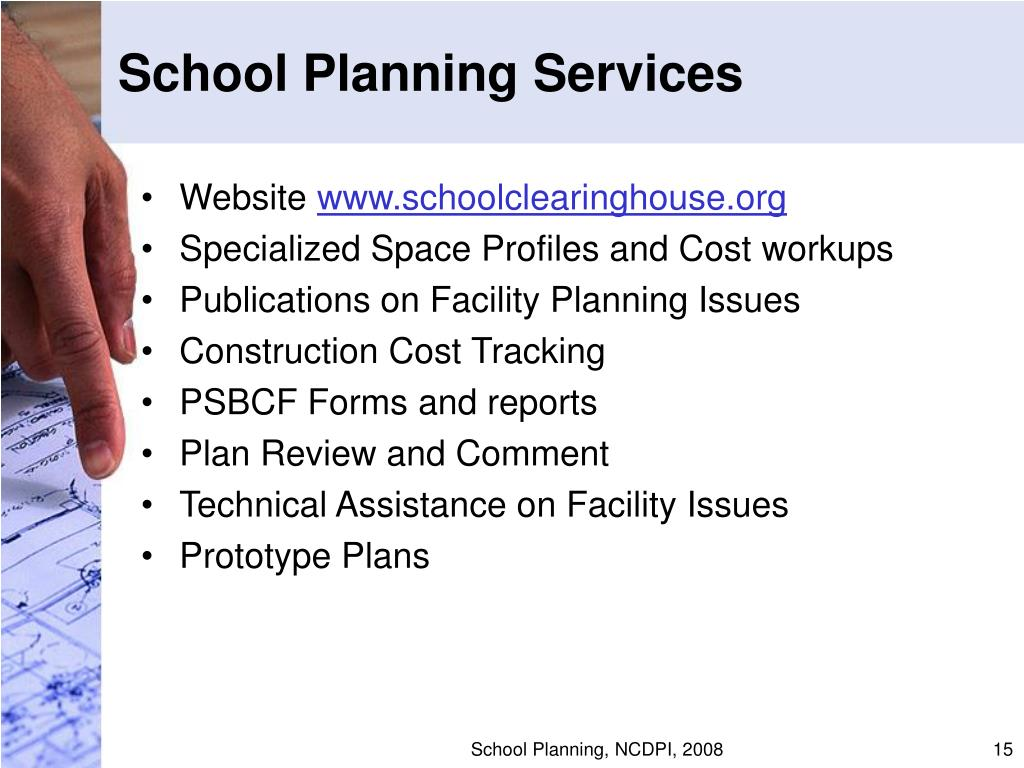 School Planning Services