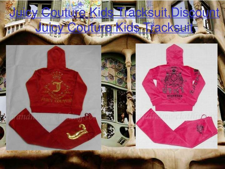 Juicy couture kids tracksuit discount juicy couture kids tracksuit2