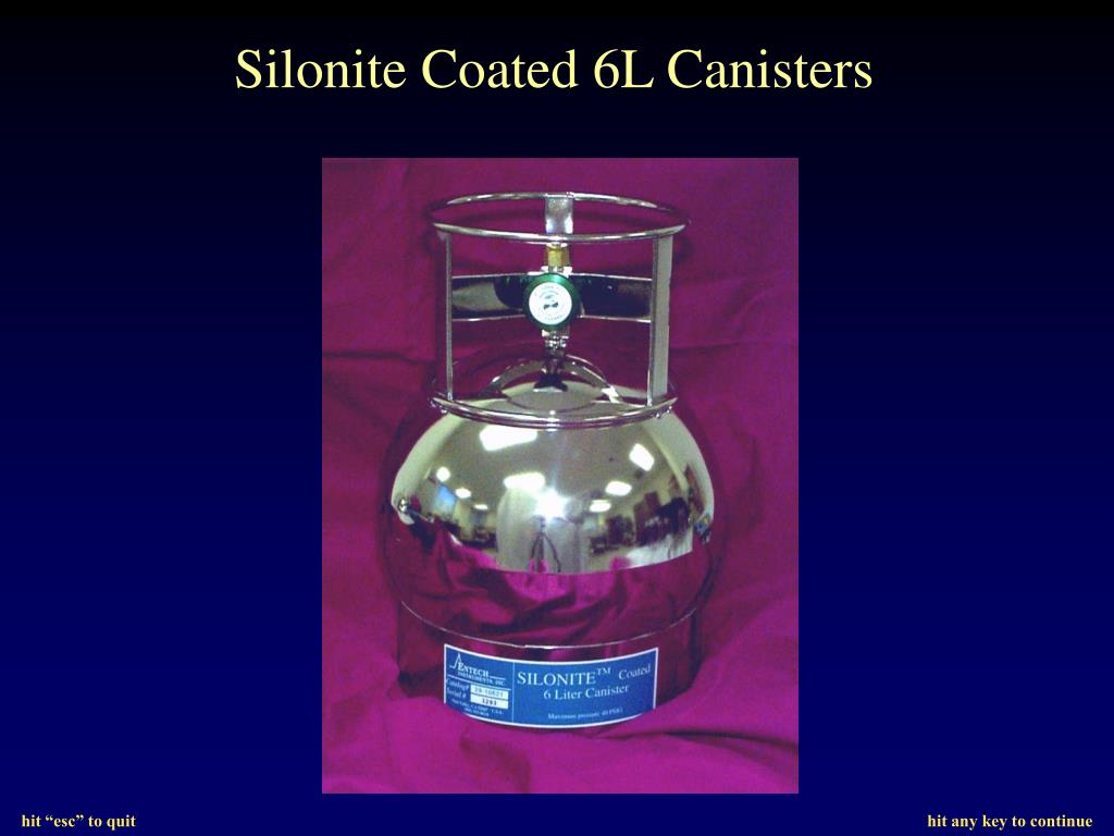 Silonite Coated 6L Canisters