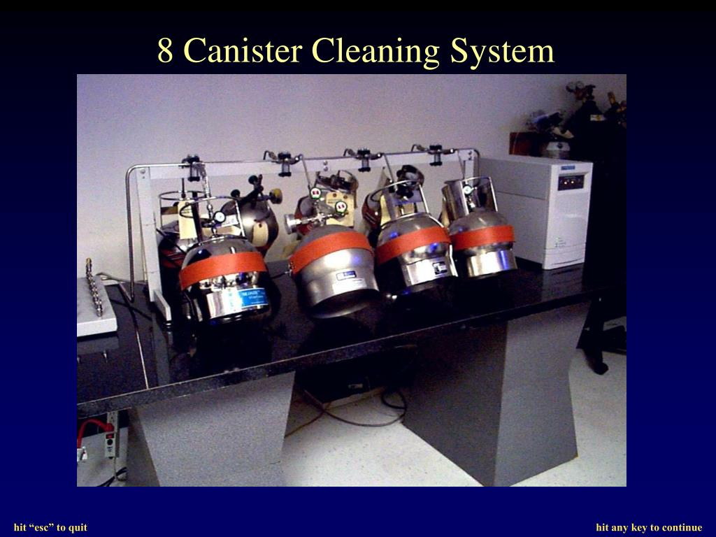 8 Canister Cleaning System