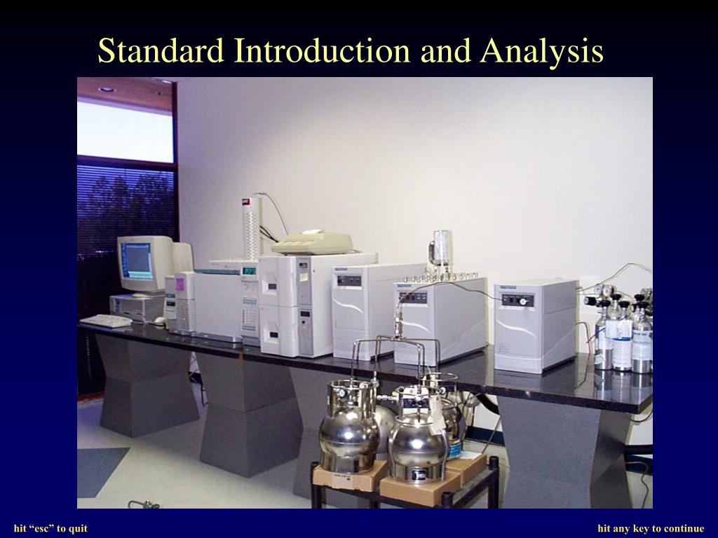 Standard Introduction and Analysis