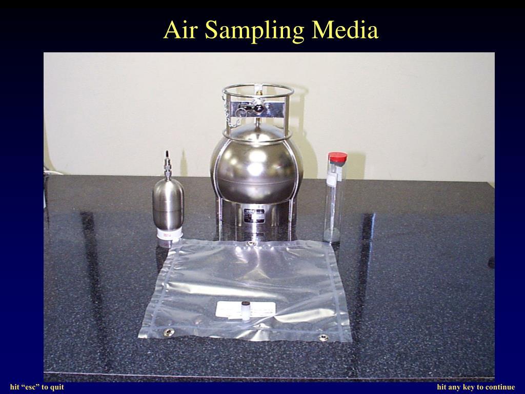 Air Sampling Media