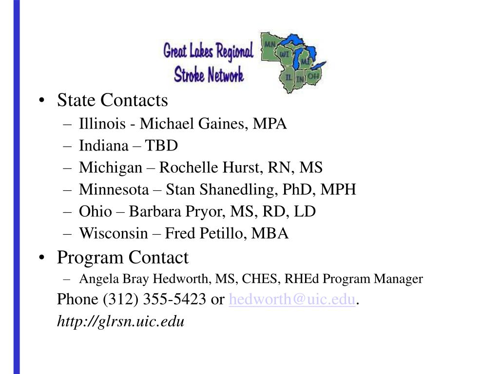 State Contacts