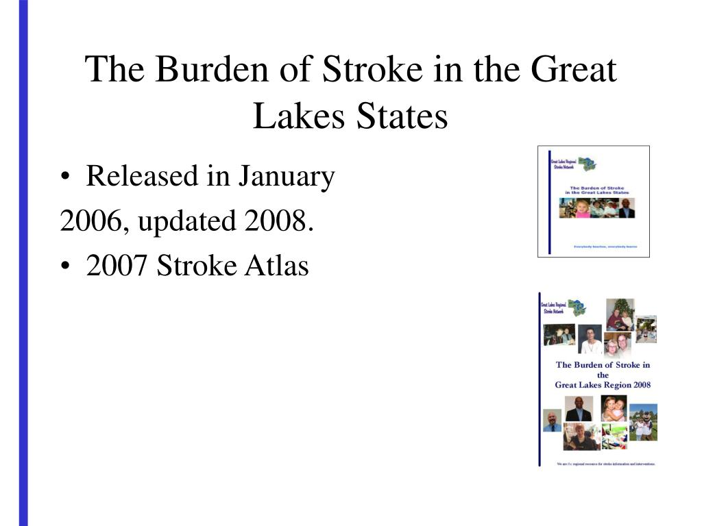 The Burden of Stroke in the Great Lakes States