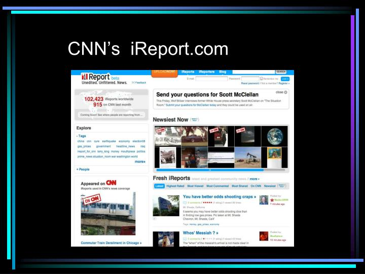 CNN's  iReport.com
