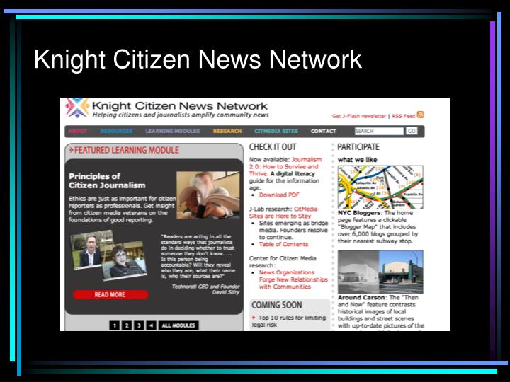 Knight Citizen News Network