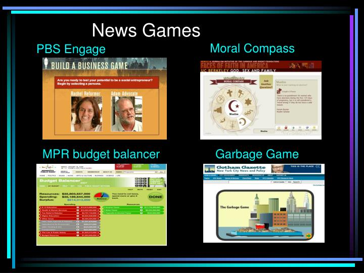News Games