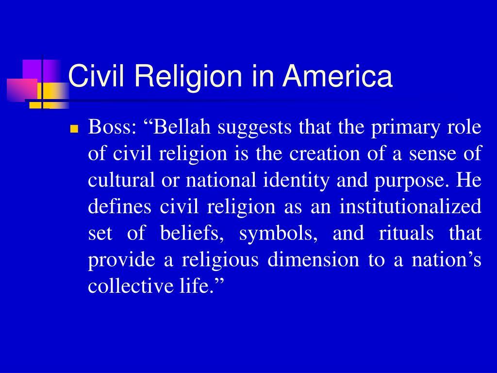 Civil Religion in America