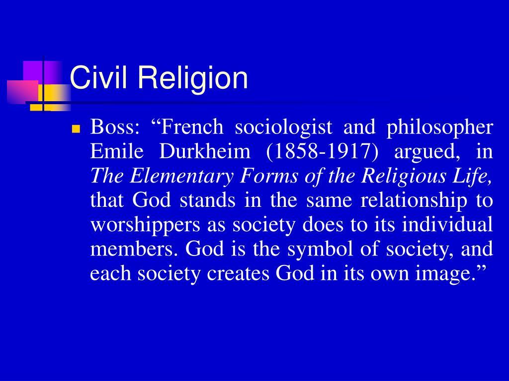 Civil Religion