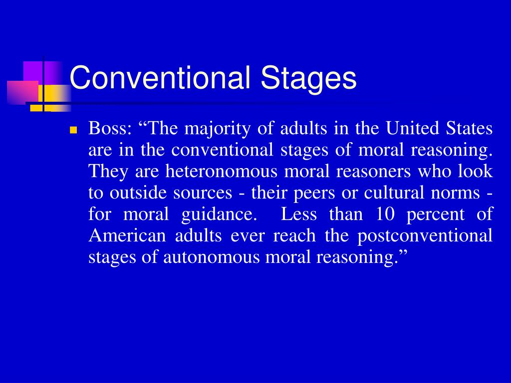 Conventional Stages