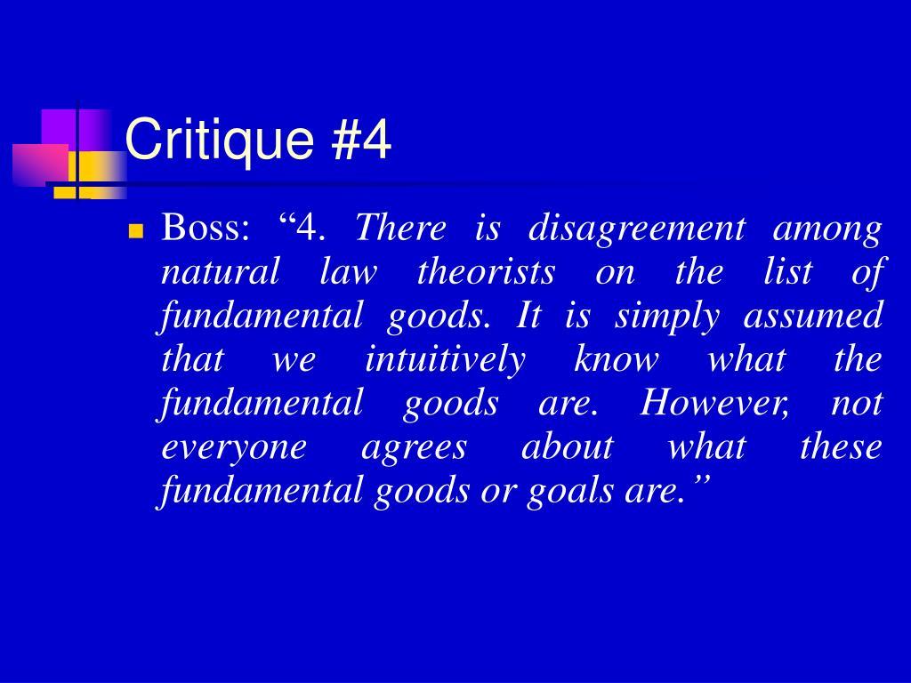 Critique #4