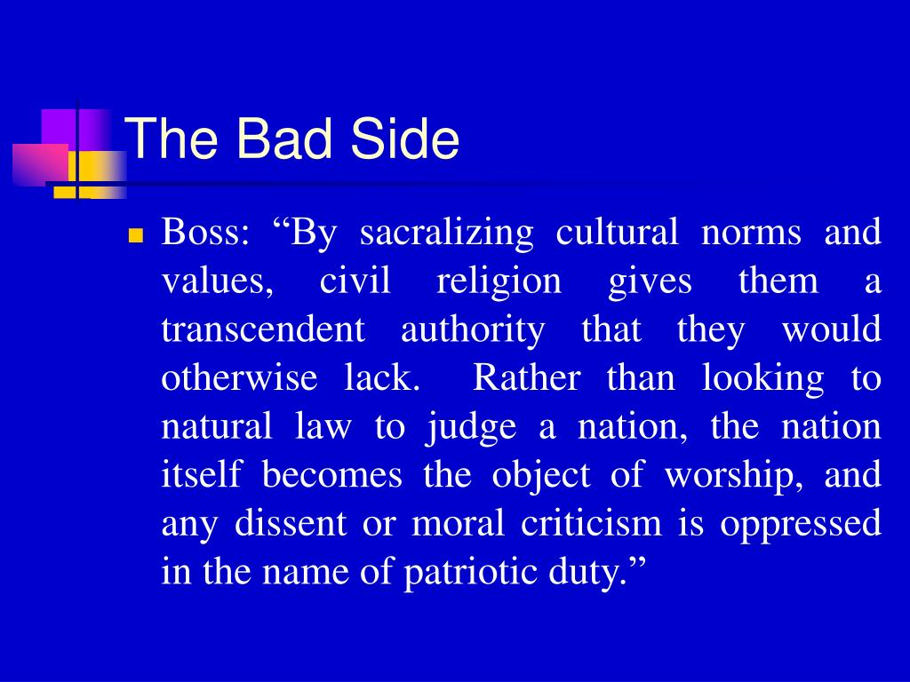 The Bad Side