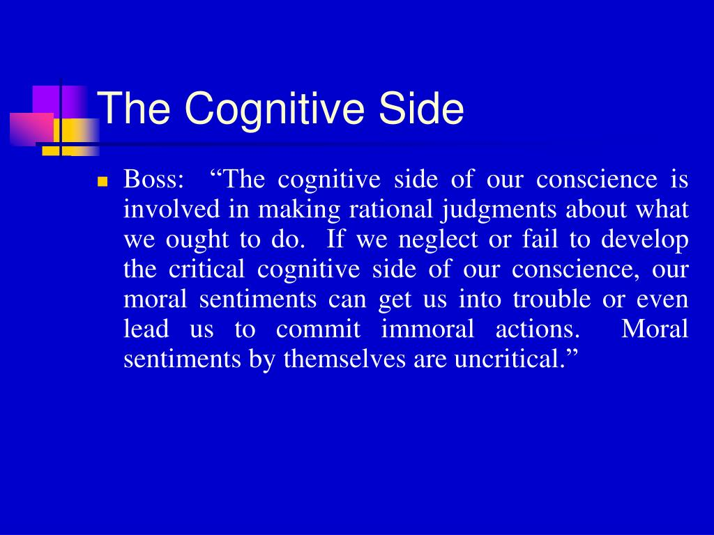 The Cognitive Side