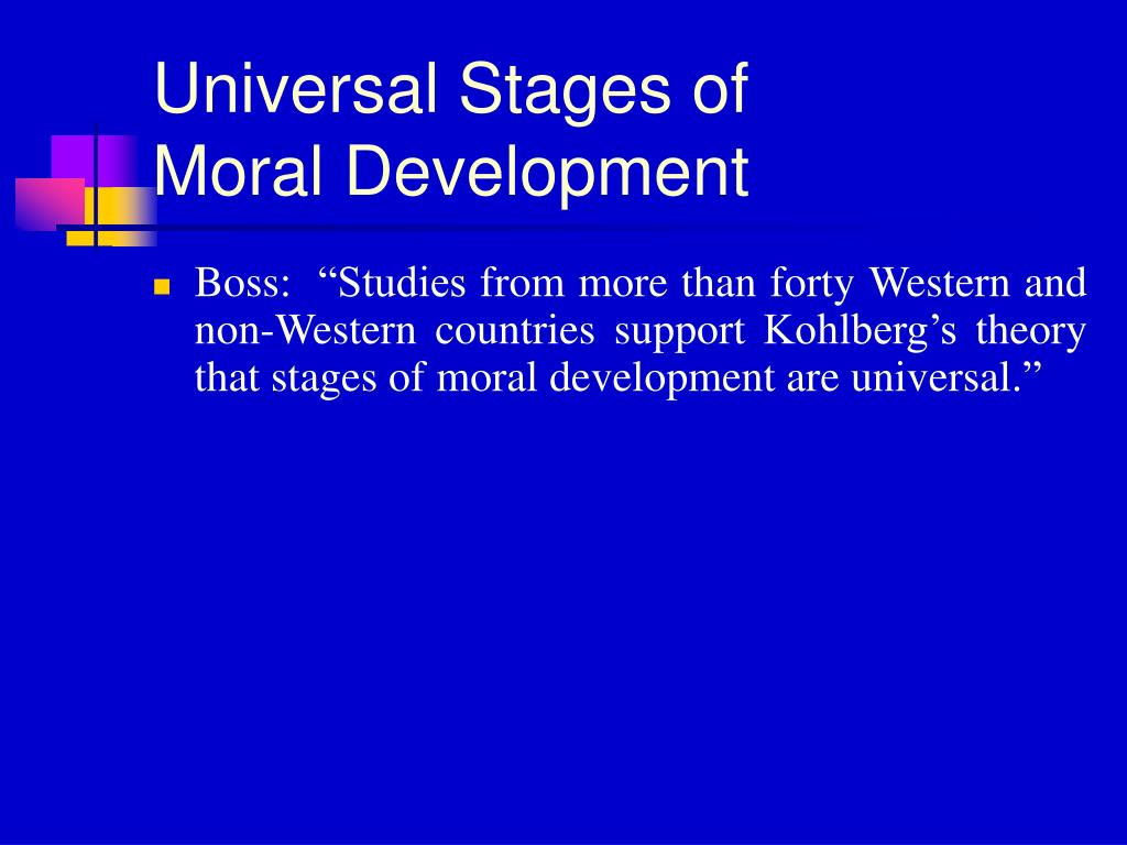 Universal Stages of