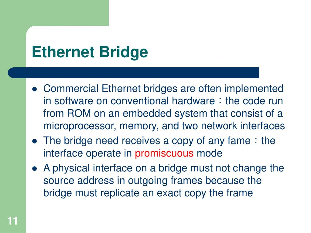 Ethernet Bridge