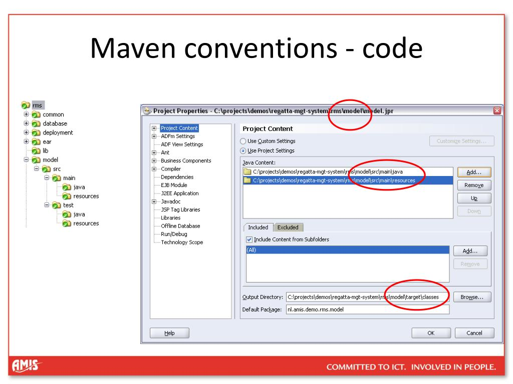 Maven conventions - code