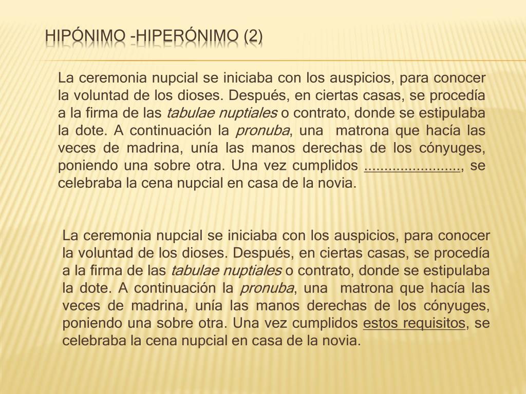 Hipónimo -hiperónimo (2)