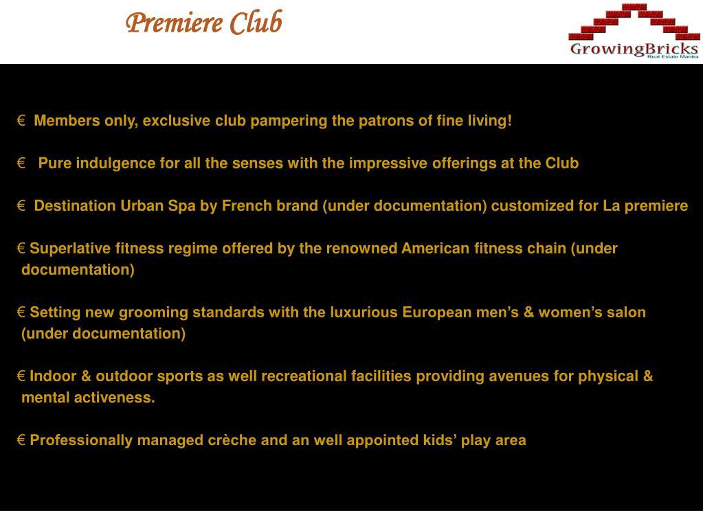 Premiere Club