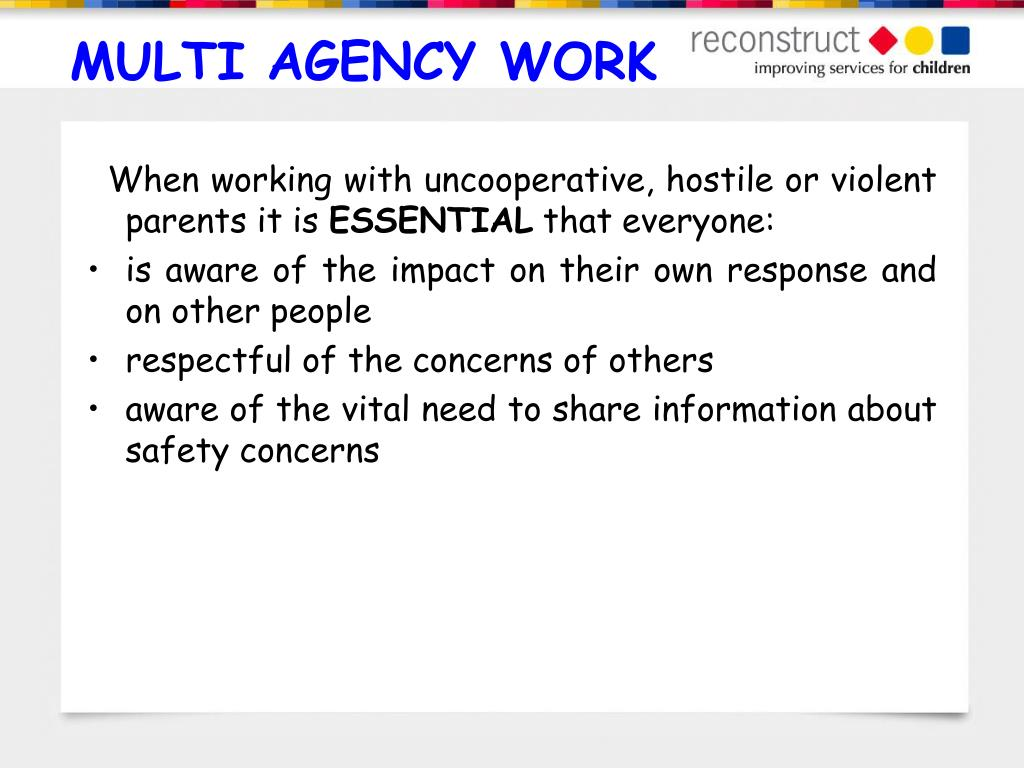 multi agency work