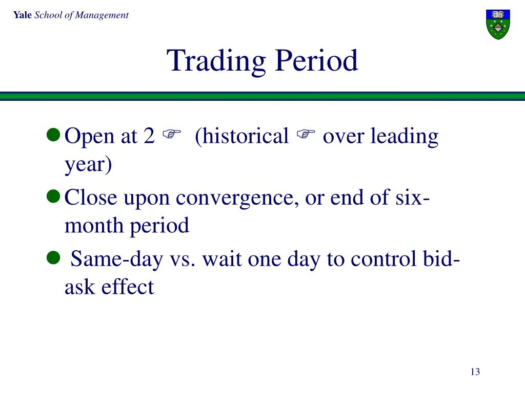 Trading Period