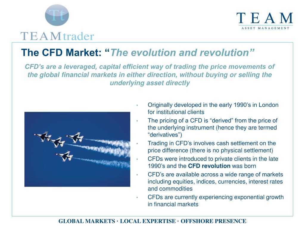 The CFD Market: ""