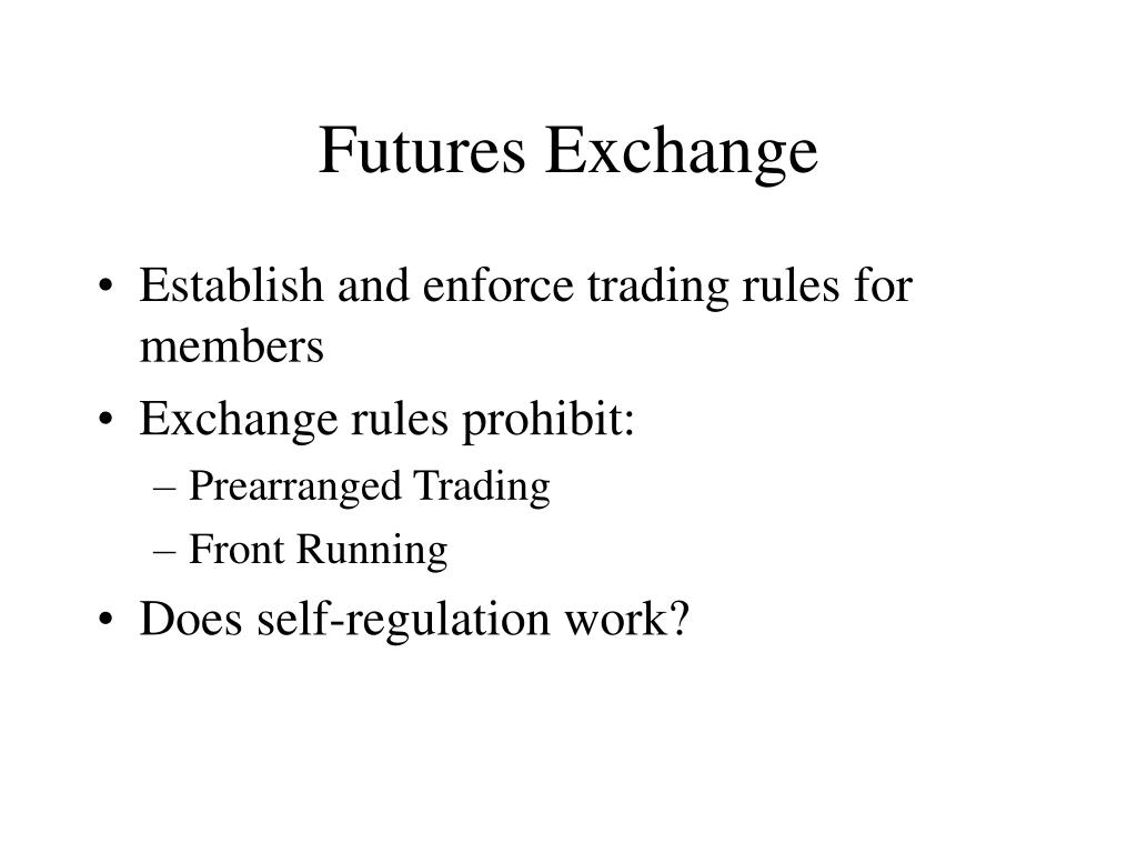 Futures Exchange