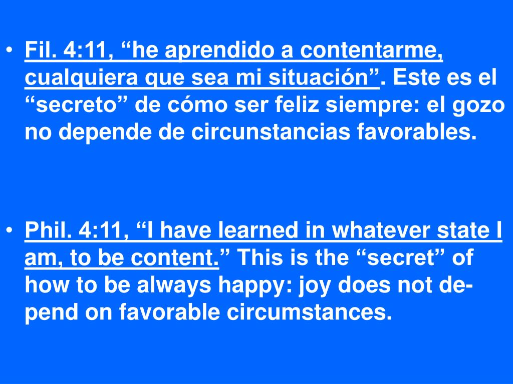 """Fil. 4:11, """""""