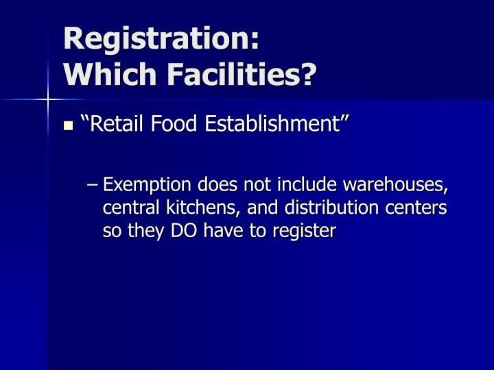 Registration: