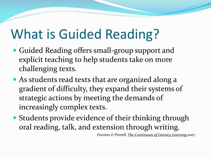 What is guided reading l.jpg