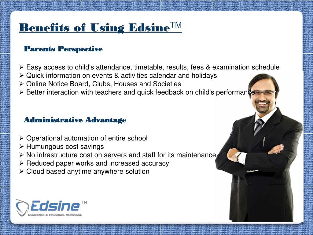 Benefits of Using Edsine