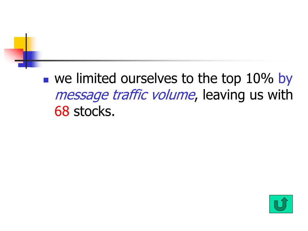we limited ourselves to the top 10%