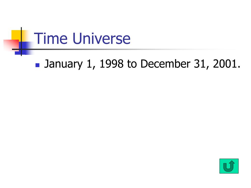 Time Universe