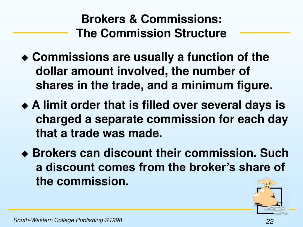 Brokers & Commissions: