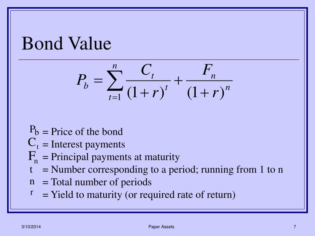 Bond Value