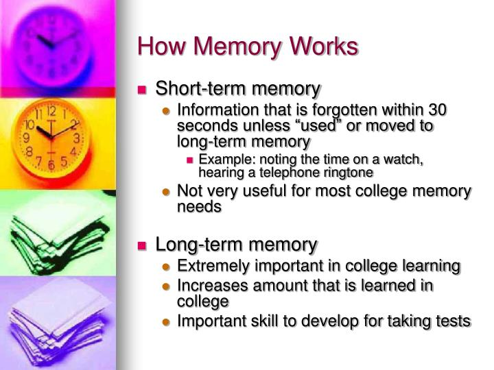 How memory works