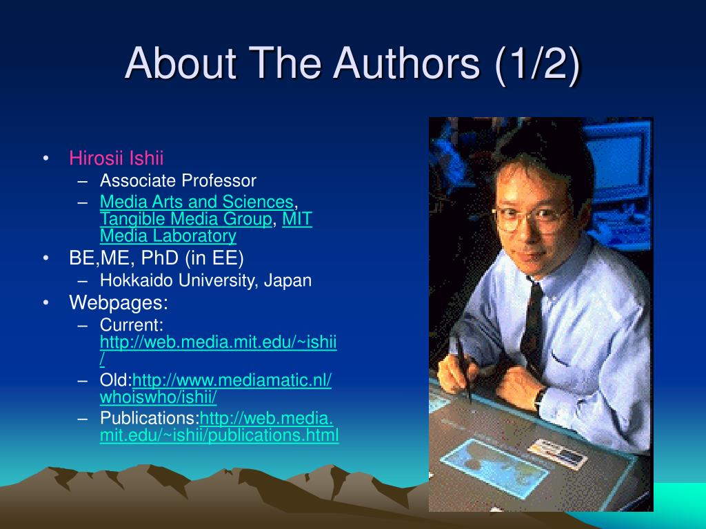 About The Authors (1/2)