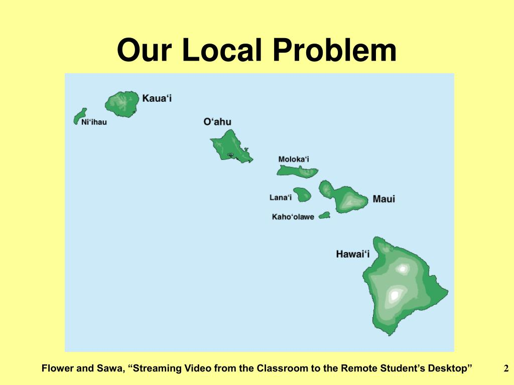 Our Local Problem