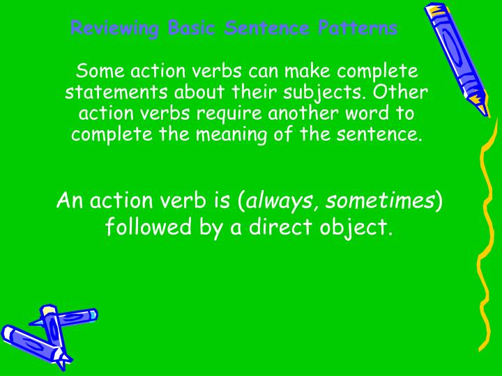 Reviewing basic sentence patterns2