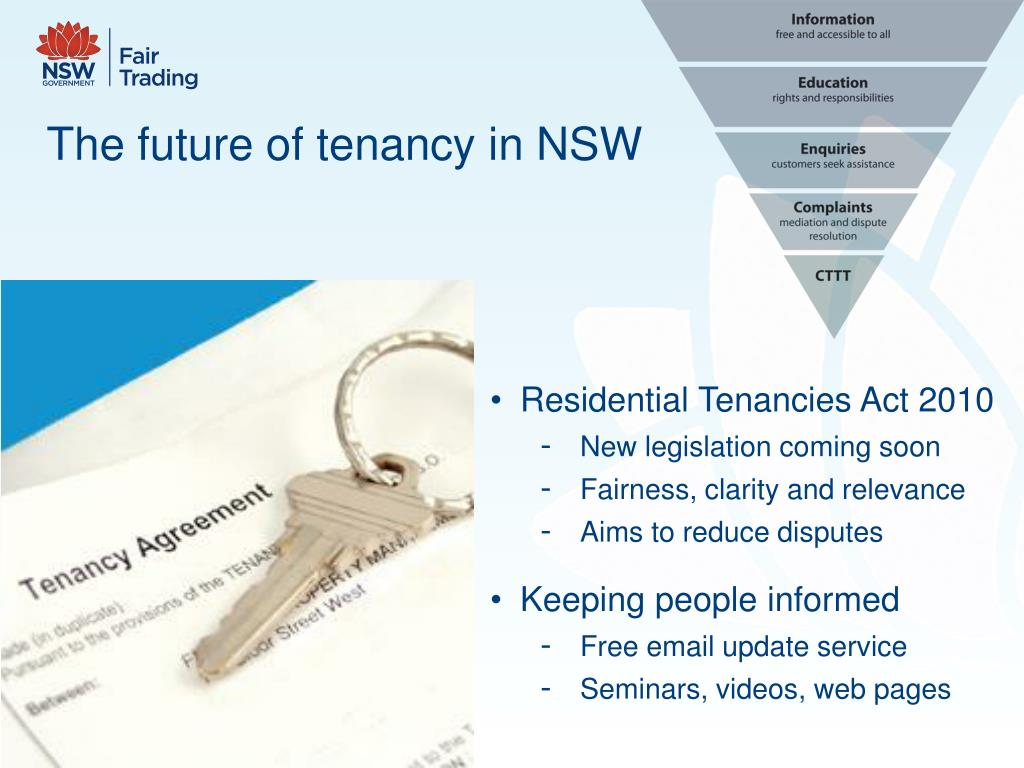 The future of tenancy in NSW