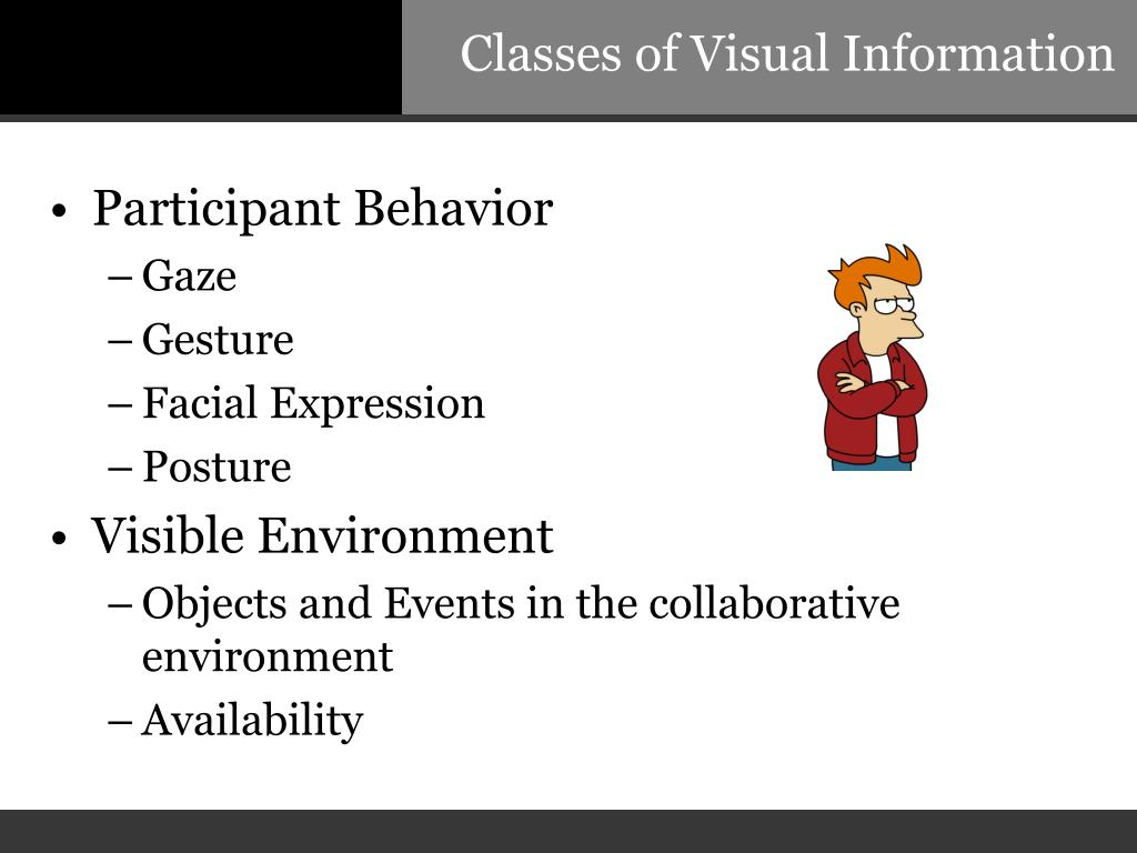 Classes of Visual Information