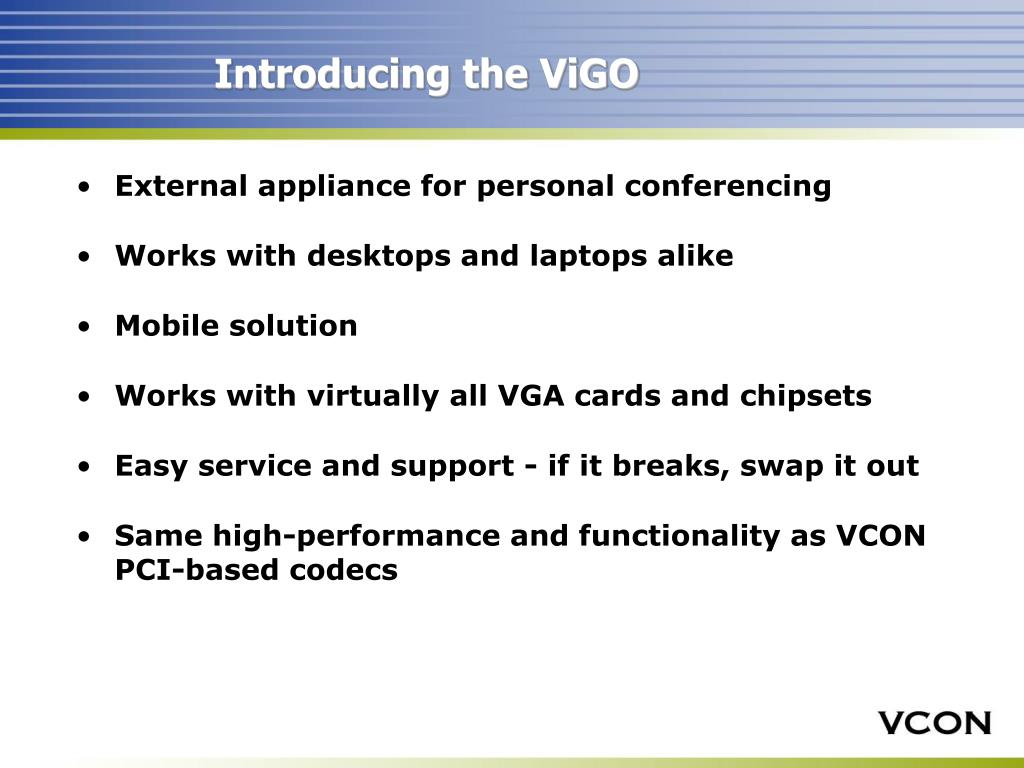 Introducing the ViGO