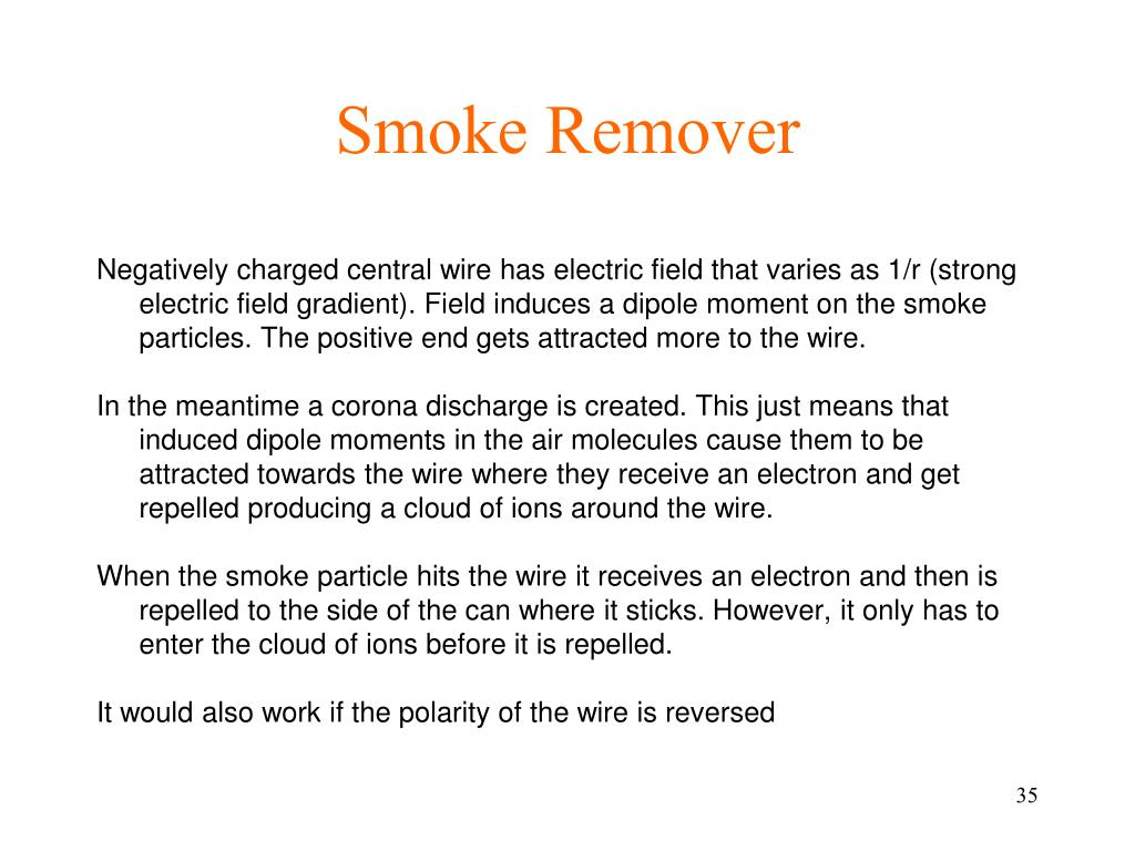 Smoke Remover