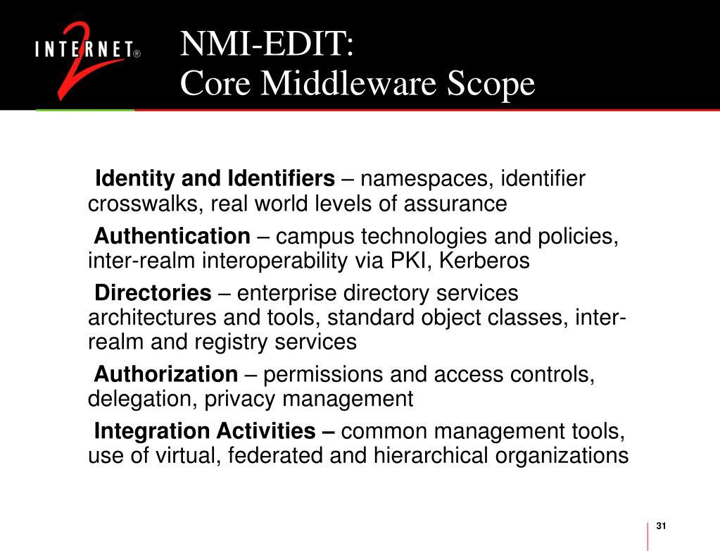 NMI-EDIT: